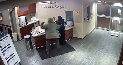 Headscarf-wearing woman attacked in US hospital