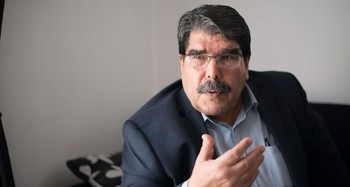 Photo shows PYD's chairman Salih Muslim. (FILE Photo)