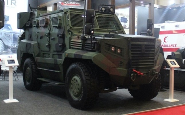 Turkish armored vehicle manufacturer Katmerciler records first exports