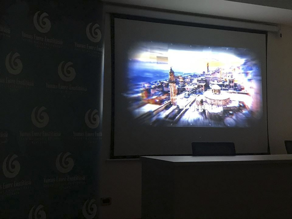 The premiere was hosted by the Yunus Emre Institute in Beirut.