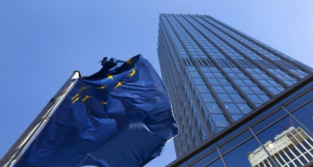 European Central Bank leaves benchmark interest rate on hold at zero