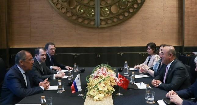 وزيرا خارجية تركيا وروسيا بحثا الملف السوري والعلاقات الاقتصادية