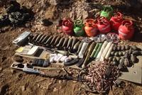 UNHCR aid sacks found in PKK terrorists' weapons cache