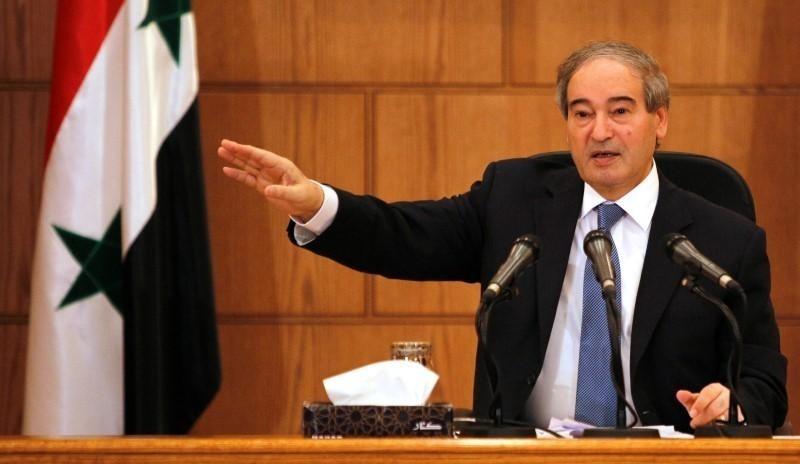 Syrian regime's Deputy Foreign Minister Faisal Mekdad. (Reuters Photo)