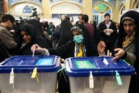 Conservatives claim victory in Iran polls after record low turnout