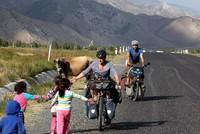 Globetrotting cyclists ready to travel through Turkey