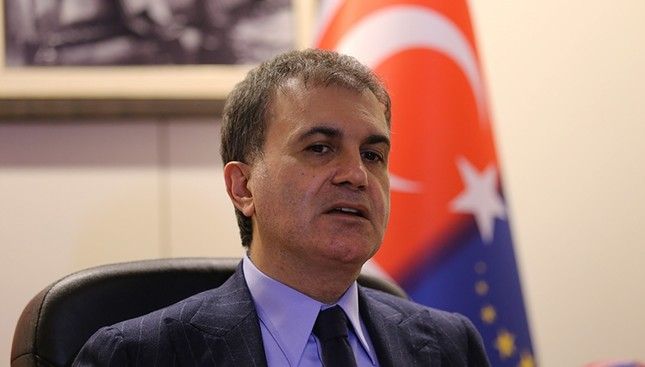 Minister for EU Affairs and Chief Negotiator Ömer Çelik. (İHA Photo)