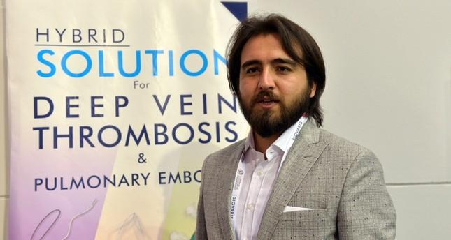 Raşit Dinç, a representative of the company (AA Photo)