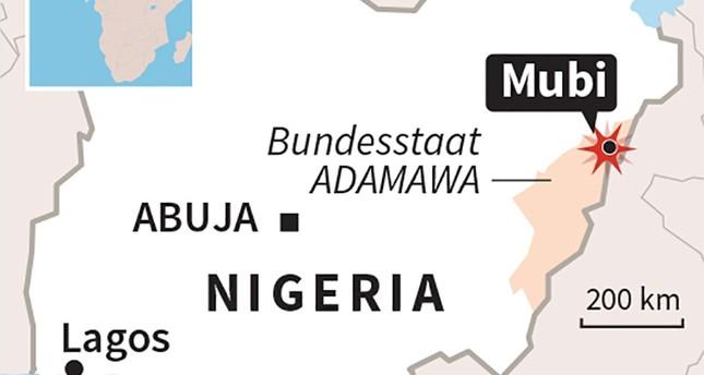 مقتل 50 شخصاً على الأقل بتفجير انتحاري استهدف مسجداً في نيجيريا