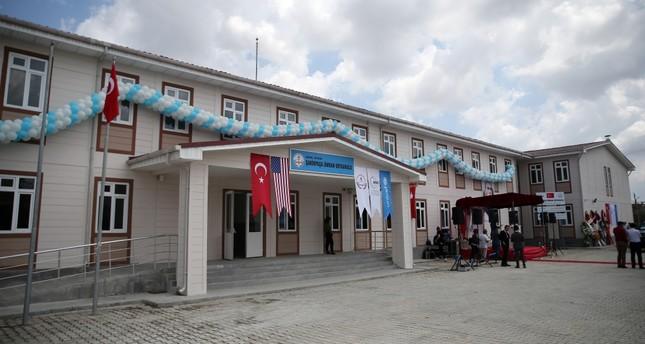 UNICEF school for Syrians opens in Adana