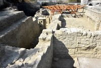Two-story building discovered at Saint Nicholas memorial excavations in Turkey's Antalya