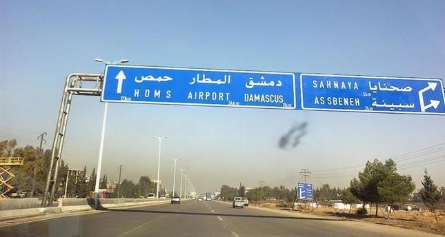 نظام الأسد يعترف بالقصف الإسرائيلي على دمشق اليوم