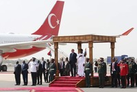 Erdoğan continues his 'leader diplomacy' during second stop on Africa trip, Gambia