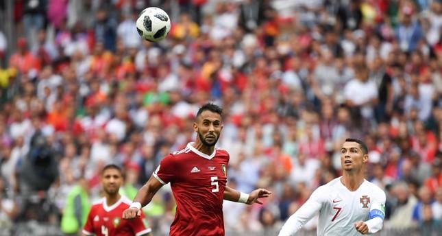 رونالدو متفاجئ من الشراسة المغربية في أرض الملعب