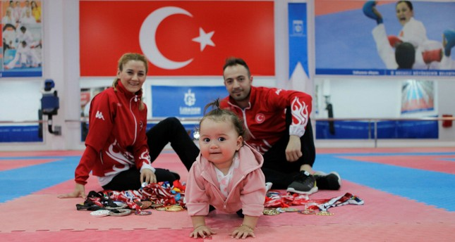 National karate players on love, parenting and combat