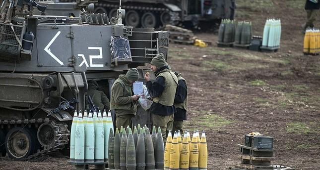 غارة إسرائيلية على قاذفات صواريخ تابعة للنظام السوري شمالي الجولان