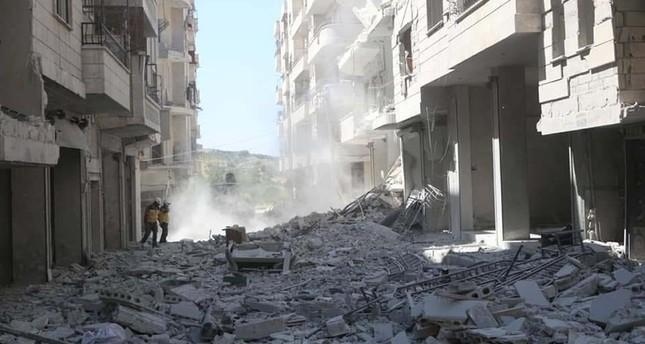 Assad regime kills 9 in strikes on hospital, school in Idlib de-escalation zone
