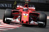Kimi Raikkonen took pole position on Saturday for the Monaco Formula One Grand Prix, edging out Ferrari team-mate Sebastian Vettel.  Mercedes driver Valtteri Bottas will start Sunday's famous...