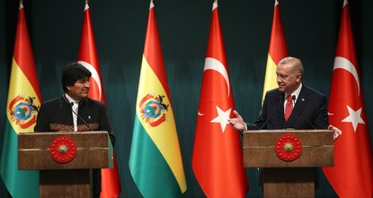 Turkey, Bolivia to reap benefits of expanding economic cooperation