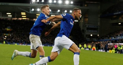 Tosun rescues point for Everton in match marred by Gomes injury