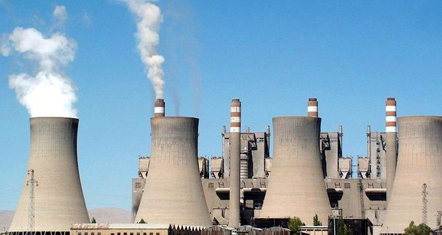 The thermal-power plant in Turkey's Elbistan, Kahramanmaraş.