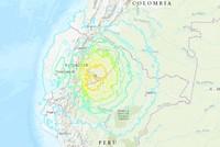 Powerful magnitude 7.5 quake strikes Ecuador