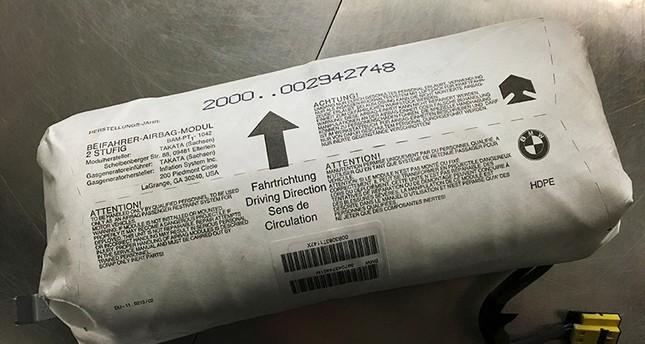 takata recalls additional 3 3m faulty air bag inflators daily sabah. Black Bedroom Furniture Sets. Home Design Ideas
