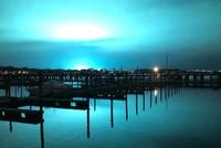 New York: Blaues Licht führt zu Spekulationen im Netz