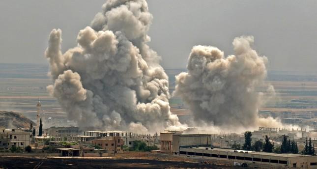 من استهداف قوات النظام السوري لمنطقة خفض التوتر (الفرنسية)