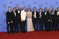 'La La Land' sweeps the Golden Globes