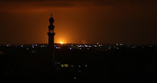 القصف الإسرائيلي على غزة الفرنسية