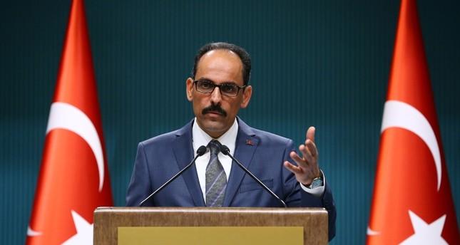 قالن: أردوغان سيعلن تشكيلة الإدارة الجديدة في 9 يوليو