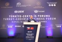 منتدى الأعمال التركي–التشيكي.. الأرقام والأهداف
