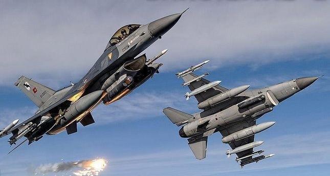 سلاح الجو التركي يدمر مواقع لبي كا كا الإرهابي شمالي العراق