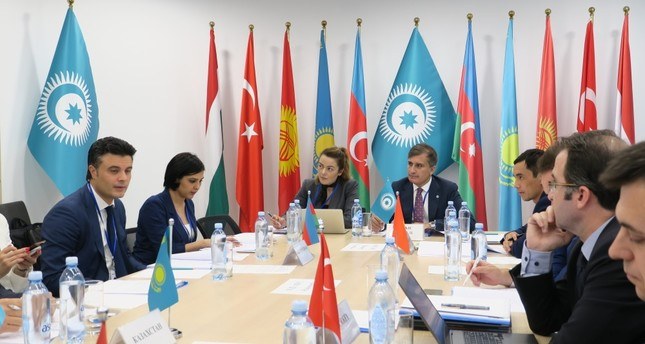 The Council was presided by Deputy Secretary-General of the Turkic Council Ömer Kocaman and attended by the economy ministries officials of the member states of Turkey, Kyrgyzstan, Kazakhstan and Azerbaijan, Nur-Sultan, July 2, 2019.