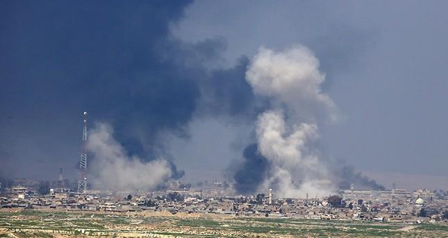 مقتل 12 مدنيا في غارة جوية لطائرات التحالف الدولي استهدفت منازل في الموصل