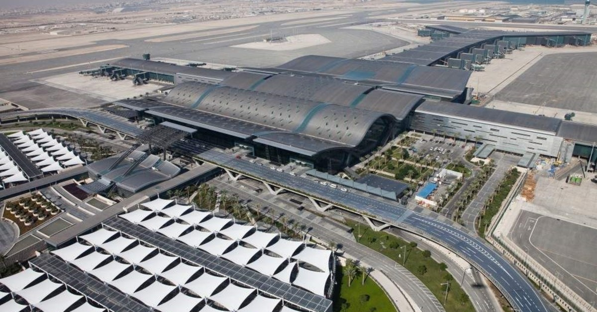 Turkish contractor TAV ?n?aat completed the construction of Doha's award-winning Hamad Airport in 2014. (?HA Photo)