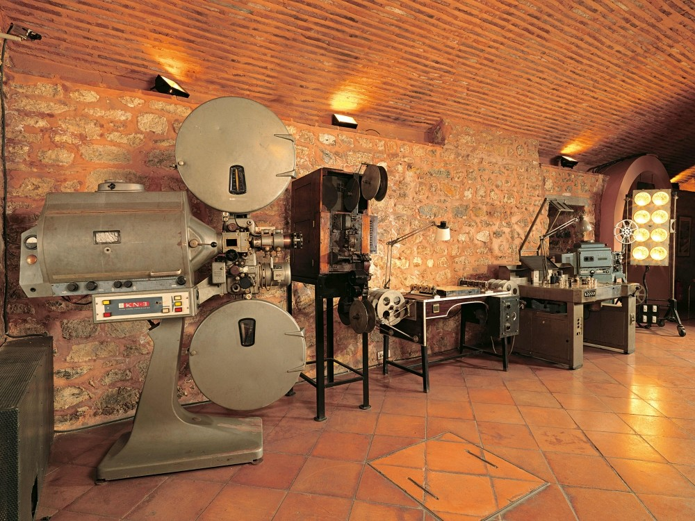 Cinema equipments donated by Acar Film Company.