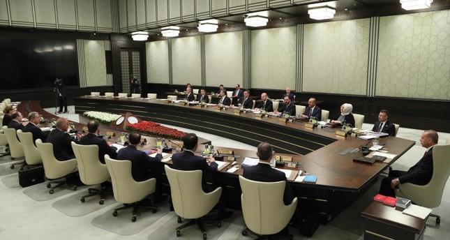 الحكومة التركية تبدأ أولى اجتماعاتها في المجمع الرئاسي