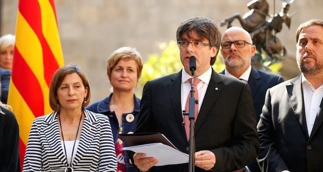 Image result for Catalan President Carles Puigdemont, photos