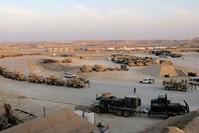 قاعدة عين الأسد التي تضم جنوداً أمريكيين في العراق