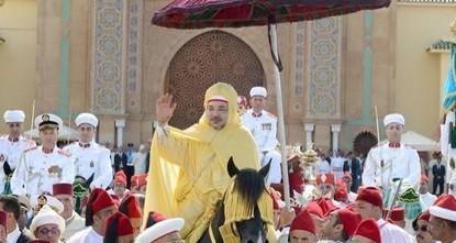 الاحتفال بيوم العرش في المملكة المغربية
