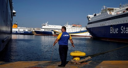 Greek ferry strike crippling Aegean islands ends as union, operators agree