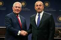 FM Çavuşoğlu holds phone call with US counterpart Tillerson upon resumption of visa services