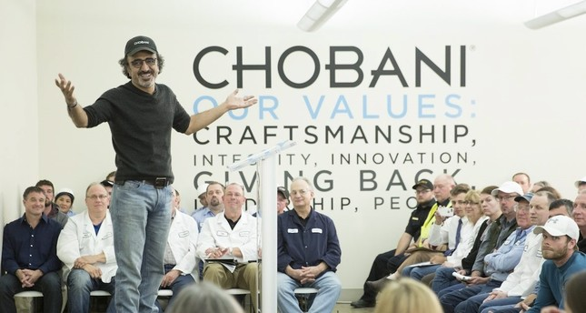 Turkish-born yogurt giant Ulukaya among Time's 100 most influential people