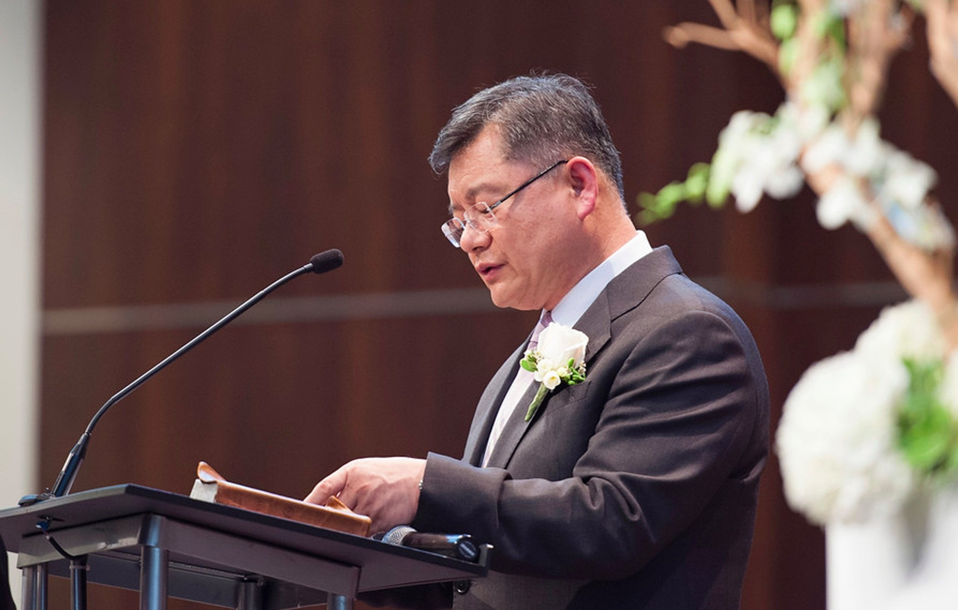 This undated file photo obtained March 3, 2015, courtesy of Light Korean Presbyterian Church in Mississauga, Ontario shows Reverend Hyeon Soo Lim. (AFP Photo)