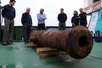 18th century Russian shipwreck found off Turkey's Aegean coast