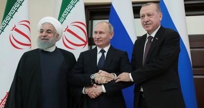 В Сочи прошел саммит Турция-Россия-Иран по Сирии