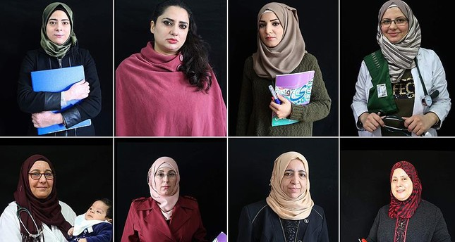 Eight Syrian women, most of whom experienced the pain of losing someone in the war, are happy to be able to do their jobs with the opportunities provided to them despite the emotional weight they bear.