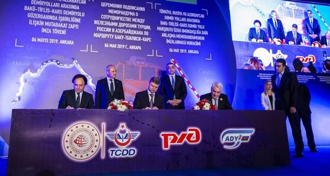 Logistics operator to make trial run via BTK railway soon, increase trade with Russia
